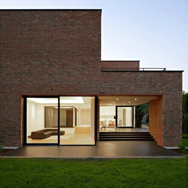 Modern Brick Cottage Projects Of